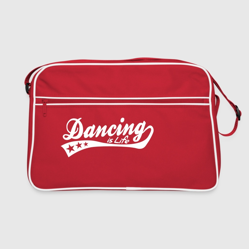 dancing is life - retro - Retro-tas