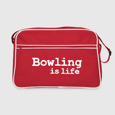 bowling is life - Sac Retro