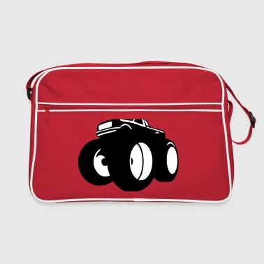 monster truck - Retro Bag