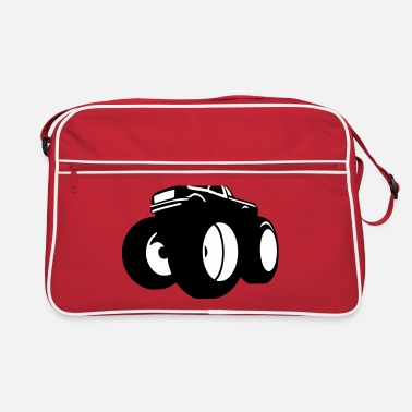 Motorsport &amp monster truck - Retrotasche