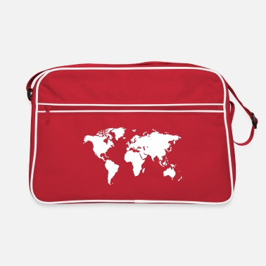Global World map - Retro Bag