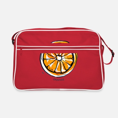 Fruit Orange Fruit Fruit Fruit - Retro Bag