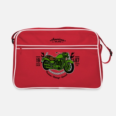 Motorcycle Motorcycle Motorcycles - Retro Bag