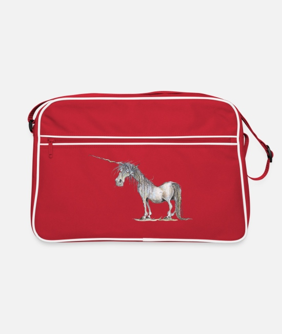 Fairy Tale Figure Bags & Backpacks - The Last Unicorn - Retro Bag red/white