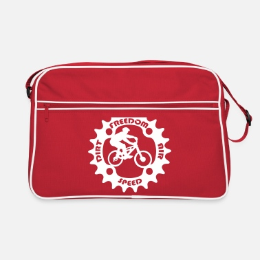 Biker Mountain Biker - Retro Bag