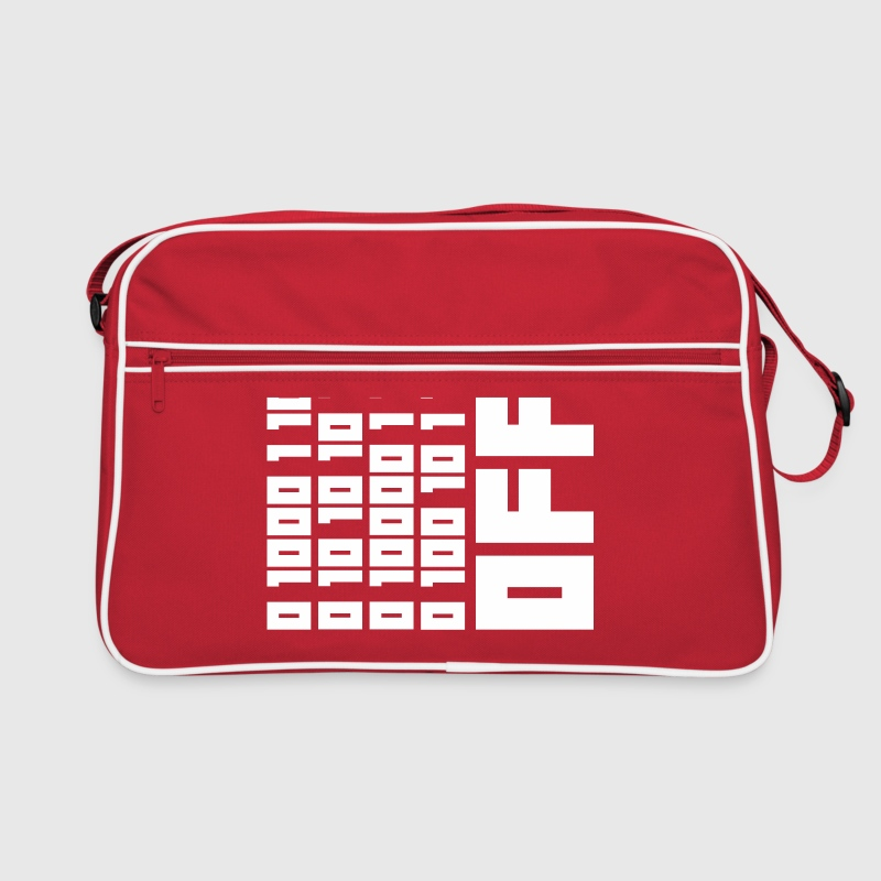Fuck OFF - Binary Code - Retro Bag