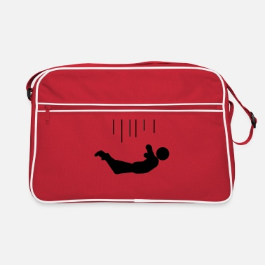 Humor Humour Fun Funny Joke Hilarious Fun Witty Laugh Cool falling - Retro Bag