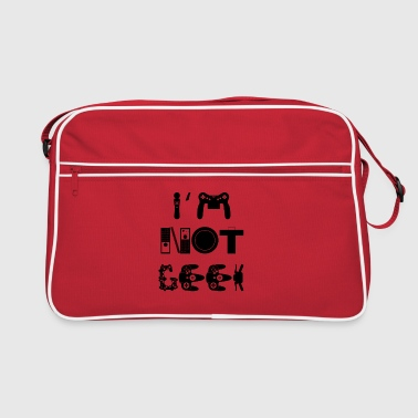 I'm not geek - Sac Retro