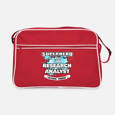 Research Research Analyst Geschenk Superheld Research Analyst - Retrotasche