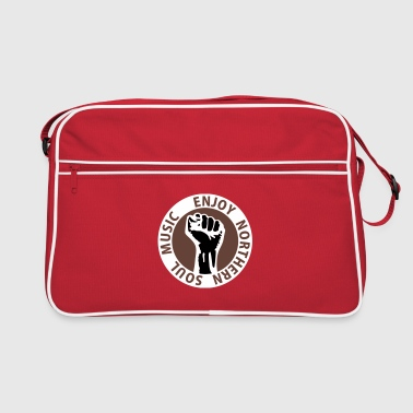 3 colors - Enjoy Northern Soul Music - nighter keep the faith - Retro Bag