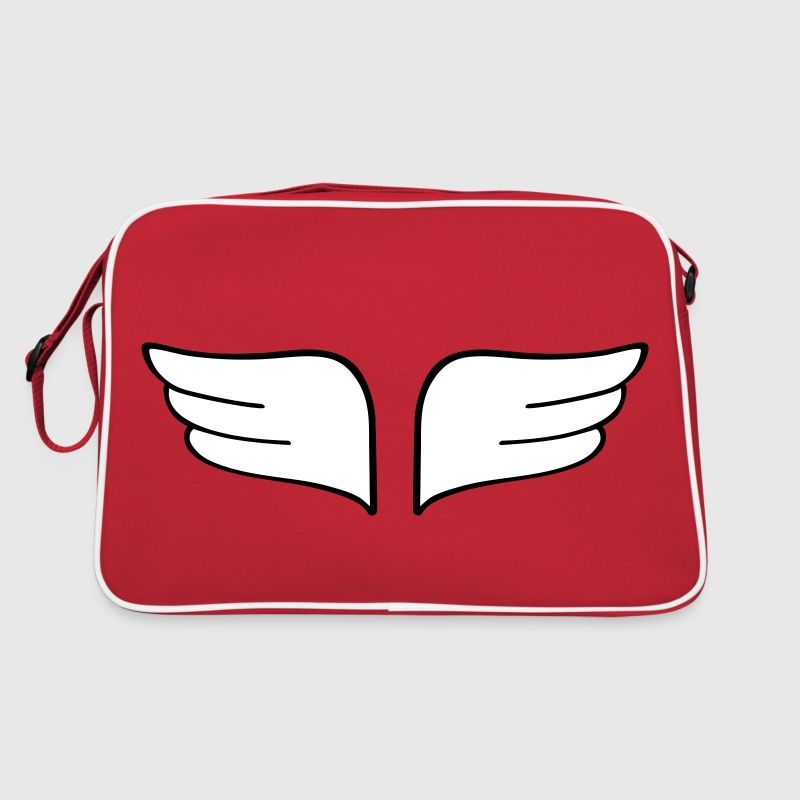 wings vleugels - Retro-tas