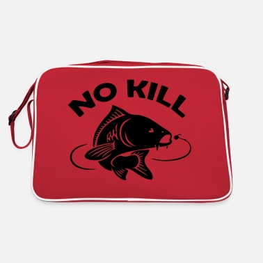Fishing fisherman fish no kill carp - Retro Bag
