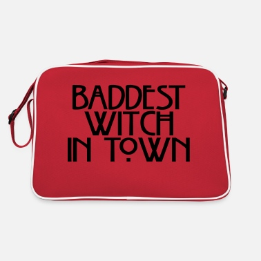 Baddest Baddest witch in town - Retro Bag