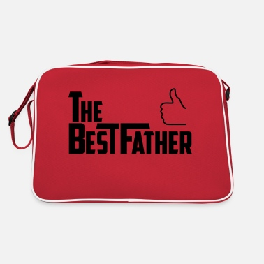 Best Father the best father - Retro Bag
