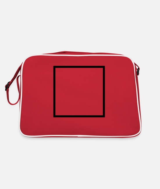Popular Bags & Backpacks - box - Retro Bag red/white