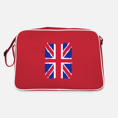 Union Jack Grunge United Kingdom - Retro Bag