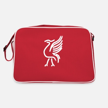 Drawing Painting Symbol White Painted Liver Bird Line Drawing - Retro Bag