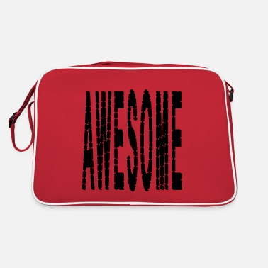 Awesome Awesome awesome - Retro Bag