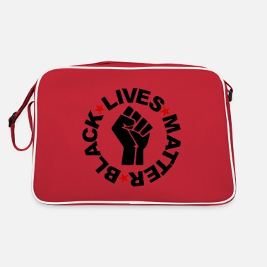 Human Rights Black Lives Matter - BLM Hand - Retro Bag