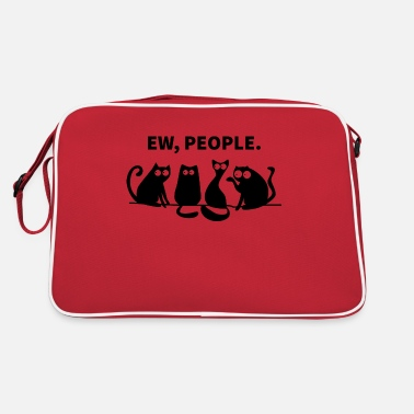 Black Light Ew People Black - Retro Bag