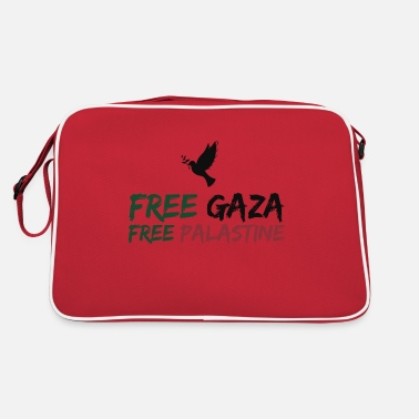 Gaza FREE GAZA - Retro Bag