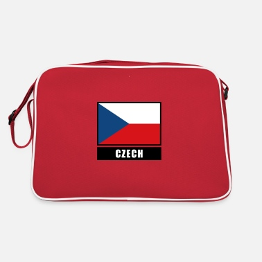 Proud Czech Czech Republic Czech flag flag - Retro Bag