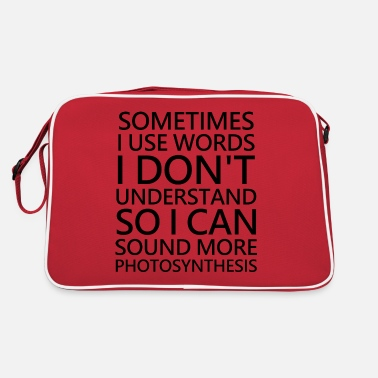 Foreign Word Cool saying foreign words - Retro Bag
