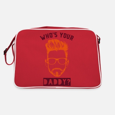 Daddy WHO'S YOUR DADDY? - Retrotasche