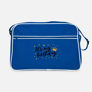 Birthday Saying Birthday saying statement Birthday saying - Retro Bag
