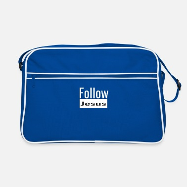 Christian Online Shop Follow Jesus Christ follow God gift - Retro Bag