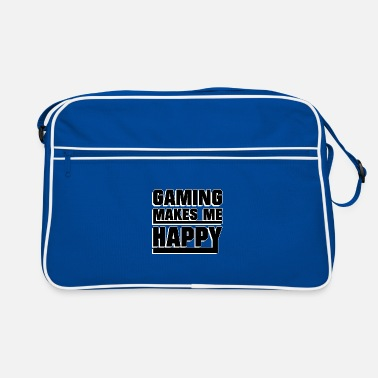 Pc Gaming makes me happy - Retro Bag