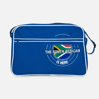 South Have No Fear The South African Is Here Shirt - Retro Bag