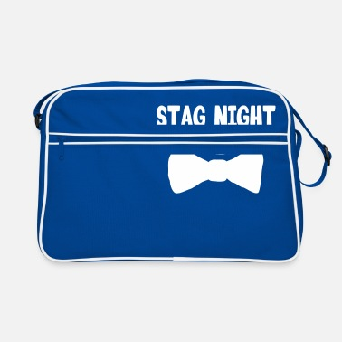 Stag stag night crew - Retro Bag