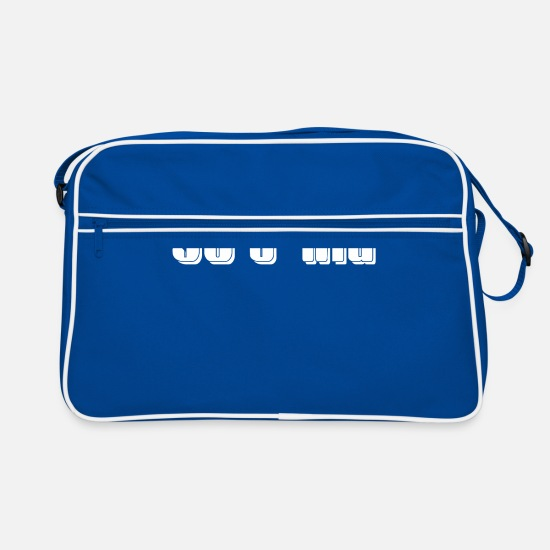 Gift Idea Bags & Backpacks - 90s kid - Retro Bag blue/white