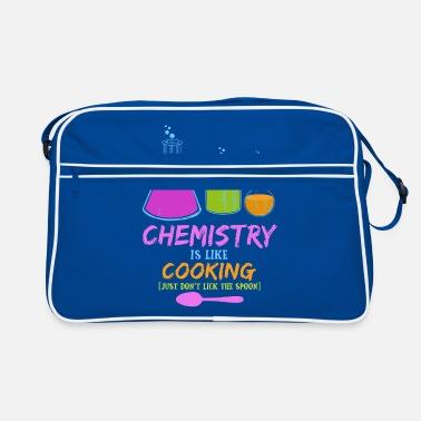1aff289eeb89d Nauczyciel Chemia jest jak gotowanie - Chemia Nerd Geek Prezent - Torba  retro