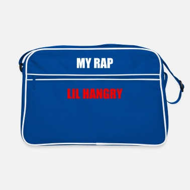 Rapper Rapper Rap Hungrig wütend Essen Name - Retrotasche
