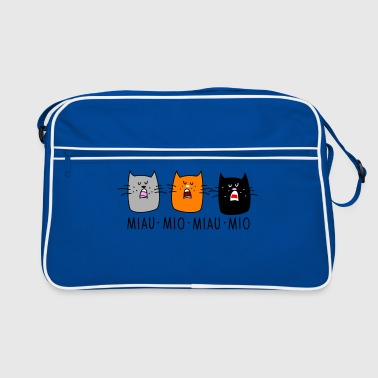 Concert cats concert - Retro Bag