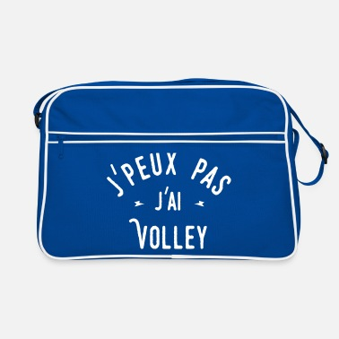 Volley j'peux pas j'ai volley - Sac Retro