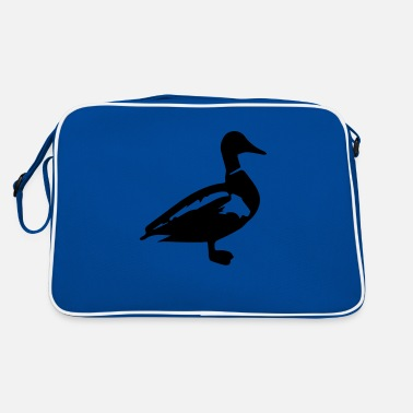 Ente Erpel Stockente - Retrotasche