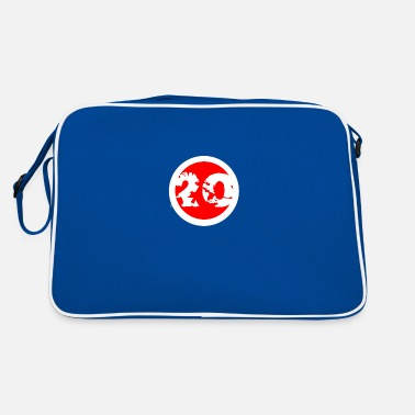 Number Lucky number number number - Retro Bag