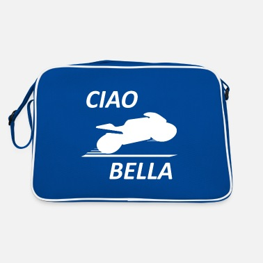 CIAO BELLA Motorcycle Super Moto - Retro Bag