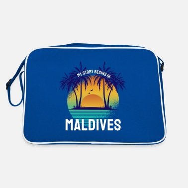 My Story begins in Maldives - Retro Bag