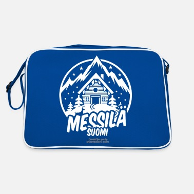 Ski Resort messilä suomi ski resort - Retrotasche