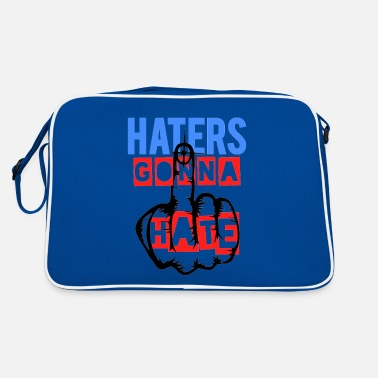 Against Haters gonna hate - Retro Bag