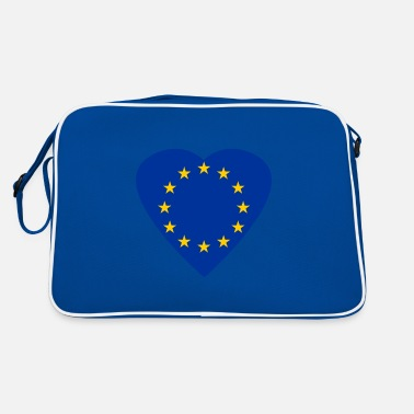 Grexit A heart for Europe and the EU - European Union - Retro Bag