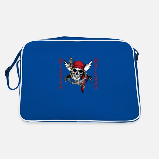 Sailboat Bags & Backpacks - pirate - Retro Bag blue/white