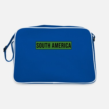 South America South America - South America - Retro Bag