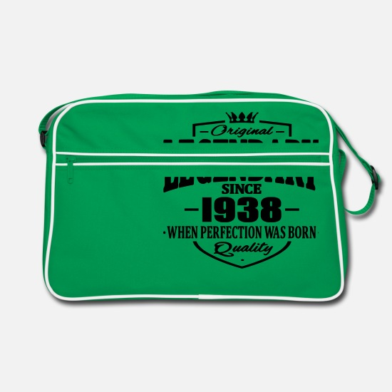 Established Bags & Backpacks - Legendary since 1938 - Retro Bag kelly green/white
