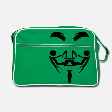 Guy Fawkes Guy Fawkes mask - Retro Bag