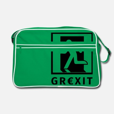 Grexit Grexit - Retro Bag